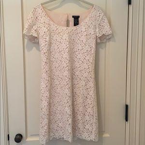Talula size small pink lace dress - ARITZIA
